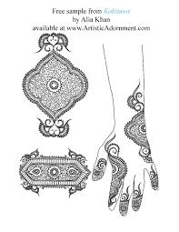 kohinoor by alia khan 10 00 artistic adornment henna