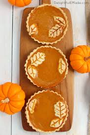 pumpkin pie delightful e made