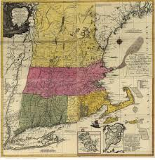New England Colonies Map by 1779 Ne Probst