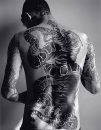 tiger and snake back sick tattoos and site