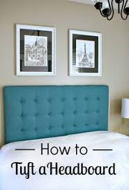 Diy Fabric Headboard by Diy Upholstered Headboard With A High End Look Diy Upholstered