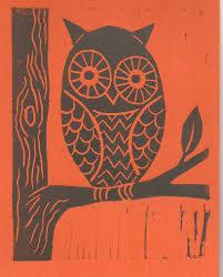 owl and the cat u2013 s brookes printmaker