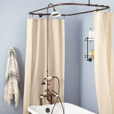 How To Choose A Shower Curtain English Rim Mount Conversion Kit With Hand Shower Porcelain