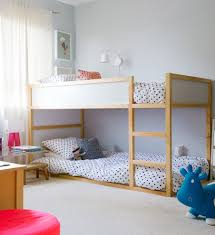 Bunk Bed Trundle Ikea Ikea Bunk Beds Transitional With Beige Carpet Bouncy Bunk