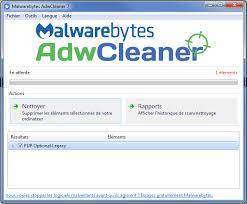 comment installer adwcleaner sur le bureau adwcleaner détecte pup optional legacy résolu