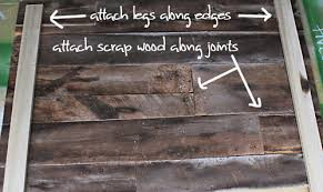 How To Build A Tabletop Jump Out Of Wood by Diy Project Salvaged Barnwood Headboard U2013 Design Sponge