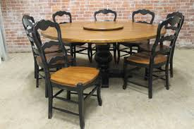Large Round Dining Room Tables Round Farmhouse Tables