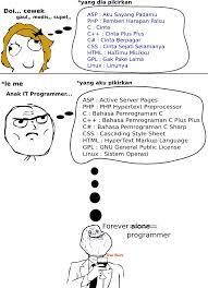 anak it programmer vs cewek gaul na9a meme comik