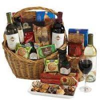 Gift Baskets With Wine Wine And Cheese Gift Baskets Justsingit Com