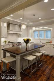 wooden kitchen island 161 best kitchen islands with wood countertops images on pinterest