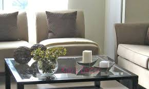 long table for living room living room beautiful decorative coffee table idea on top glass