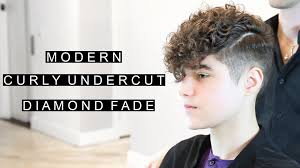 undercut length on top modern curly undercut diamond fade unique men u0027s hairstyle