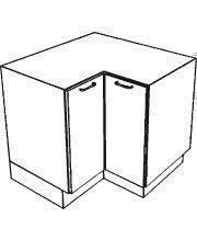 meuble cuisine angle bas meuble de cuisine gloss blanc bas angle l haut 70cm larg 90cm prof