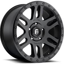fuel wheels fuel recoil d584 wheel matte black