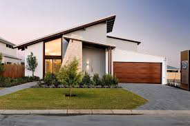 Garage Design Gray Concrete Brick Driveway Design Towards The Garage Designed