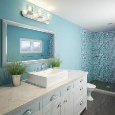 Teal Bathroom Pictures by Decolav Naiyah 1417 8 Cwh Rectangular Above Counter Vitreous China