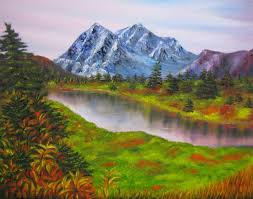 Mountain Landscape Paintings by Landscape Oil Paintings Landscape Oil Painting Painting Fall