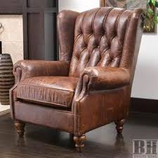 interesting tufted leather wingback chair with bright home haifa
