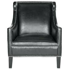 black leather club chair and ottoman leather accent chair with ottoman mafia3 info