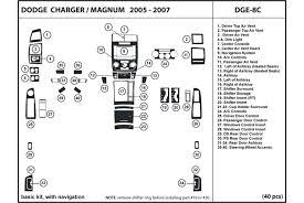 dodge charger dash kit dl auto dodge charger 2006 2007 dash kits