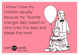 ecards for kids baby ecard i i my children equally because my