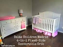 Delta Crib Mattress Delta Children Madrid Convertible Crib Review Convertible Cot