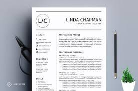 professional resumes professional resume cv template resume templates creative market