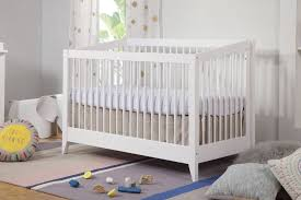 Bed Crib Sprout 4 In 1 Convertible Crib With Toddler Bed Conversion Kit