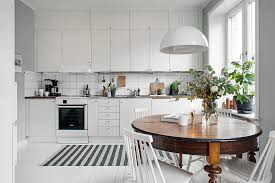 studio apartment dining table stylish swedish studio apartment lives large