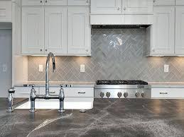 kitchen subway tile backsplash fascinating gray backsplash tile white kitchen cabinets grey design