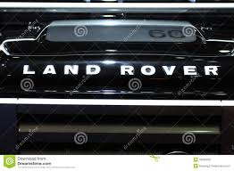 land rover logo land rover defender suv logo editorial photography image 16266992