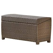 Patio Storage Ottoman Best Selling Outdoor Wicker Storage Ottoman Patio