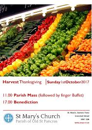 what is harvest thanksgiving parish of old st pancras st mary u0027s church u2013 harvest thanksgiving