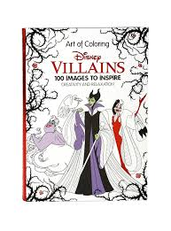 disney art of coloring disney villains coloring book topic