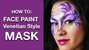 mardis gras mask venitian style mardis gras mask tutorial painting