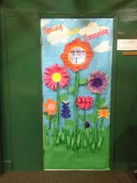 door decoration ideas for spring meublessous website