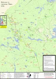 Map Maine Maine Atv U0026 Dirtbike Trail Maps Untamed Mainer