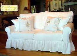 Sofa And Loveseat Slipcovers by Cozy Cottage Slipcovers
