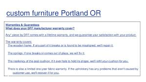 Custom Furniture Portland OR Furniture Store Portland OR - Custom furniture portland