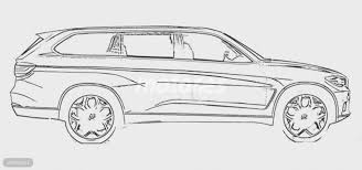 bmw x7 side rendering sketch indian autos blog