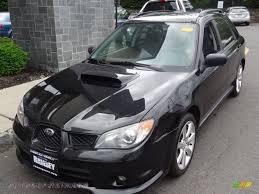 subaru impreza black 2006 subaru impreza wrx wagon in obsidian black pearl 801911