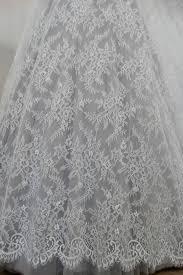 tende in pizzo francese vendita tessuti per sposa di pizzo chantilly prezzo al metro