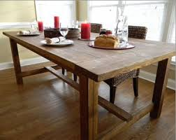 Farmhouse Dining Room Tables Home Design Ideas And Pictures - Kitchen table styles