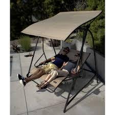 Patio Recliner Lounge Chair by Cloud 9 Reclining Lounge Swing Walmart Com