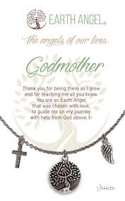 godmother necklace godmother necklace earth angel by clock it to ya