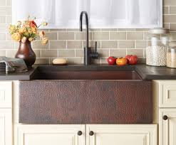 copper apron front sink apron sinks in the kitchen copper farmhouse sinks sinks and