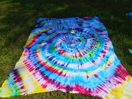 bedroom tie dye bed sheets with cool pattern for bedroom