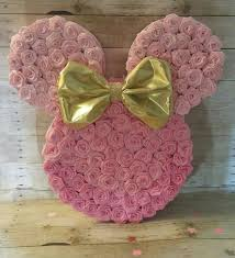 minnie mouse theme party special listing for pink and gold minnie mouse piñata 20
