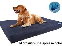 orthopedic gel memory foam dog bed for small medium to extra large
