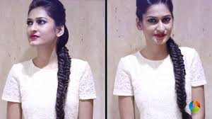 front poof hairstyles front poof fishtail braid combo cute 2 in 1 hairstyles youtube